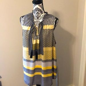 Sleeveless top with Tassels 2X